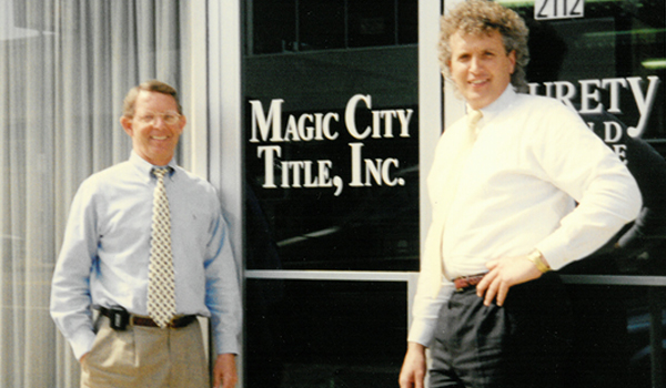 Magic City Title Old Photo