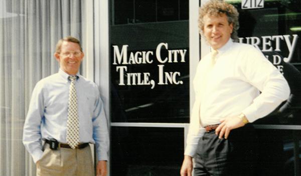 Magic City Title Old Photo